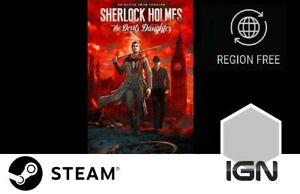 Sherlock-Holmes-The-Devil-039-s-Daughter-PC-Steam-Download-Key-FAST-DELIVERY