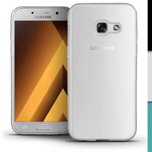 Dettagli Su Lucida Tpu Gel Custodia Per Samsung Galaxy A5 2017 Gel Pelle Coprire Protettore Schermo Mostra Il Titolo Originale