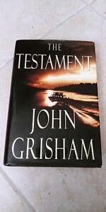 THE-TESTAMENT-by-John-Grisham-1st-EDITION-1st-printing-hardback-Free-Shippi