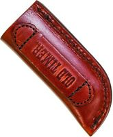 Schrade Old Timer Vertical Large Single Knife Carry Leather Belt Sheath Ls4 on Sale