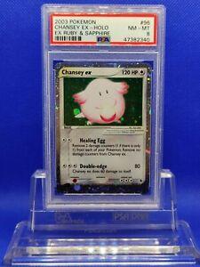 Chansey-EX-PSA-8-NM-MT-2003-EX-Ruby-amp-Sapphire-96-Pokemon