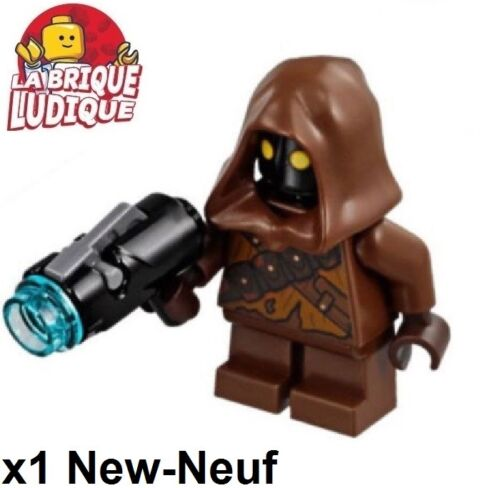 Lego Figurine Minifig Star Wars Jawa Tattered Shirt + blaster sw897 NEW