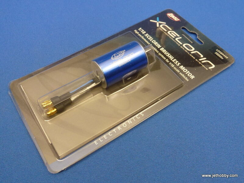 (Losi LOSB9459) 1 18 Xcelorin High Performance Brushless Motor 5000Kv 280 Talla