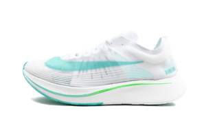 f360d7a04dcca SALE NIKE ZOOM FLY SP WHITE RAGE GREEN BLUE AJ9282 103 NEW MENS ...