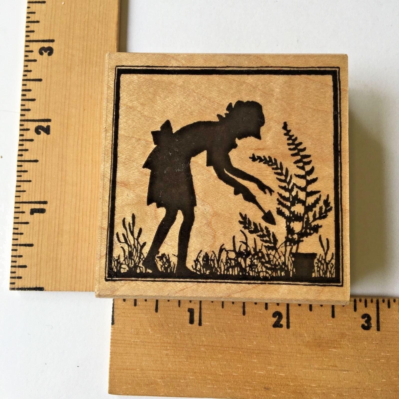 Garden Silhouette Rubber Stamp Set 00-600P6