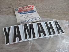 Yamaha Tank Emblem Schriftzug links RD250 RD350 Air Cooled Original NEU