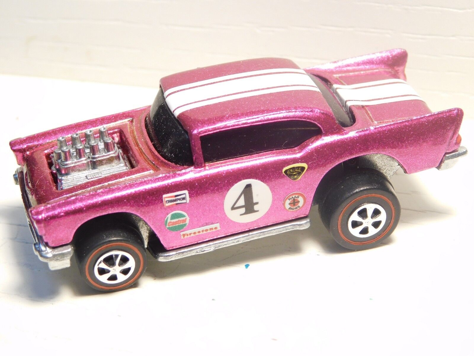 57 chevy hot wheels rotline premium - a - Rosa - umstellung
