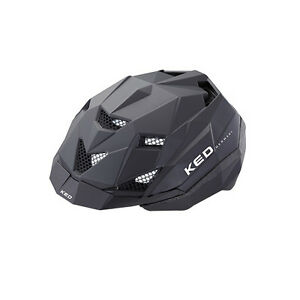Fahrrad-Helm-KED-TK2-black-matt-53-59-LED-Schwarz-fuer-KTM-GIANT-Stevens-u-a
