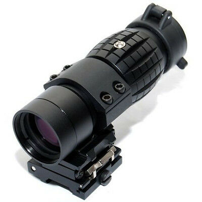 3X Magnifier with FTS Flip to Side Mount for Aimpoint EOTech 551 552 556 XPS2