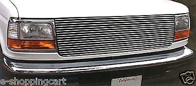 BILLET GRILLE GRILL 92~97 FORD F150 BRONCO F-250 F350 93 94 95 96 Insert