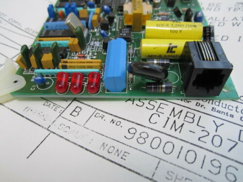 NEW OTHER A National Semiconductor Modem Board CIM-207C Rev