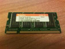 Hynix 256MB DDR PC2700 333MHz CL2.5  Laptop Memory HYMD232M646D6-J AA