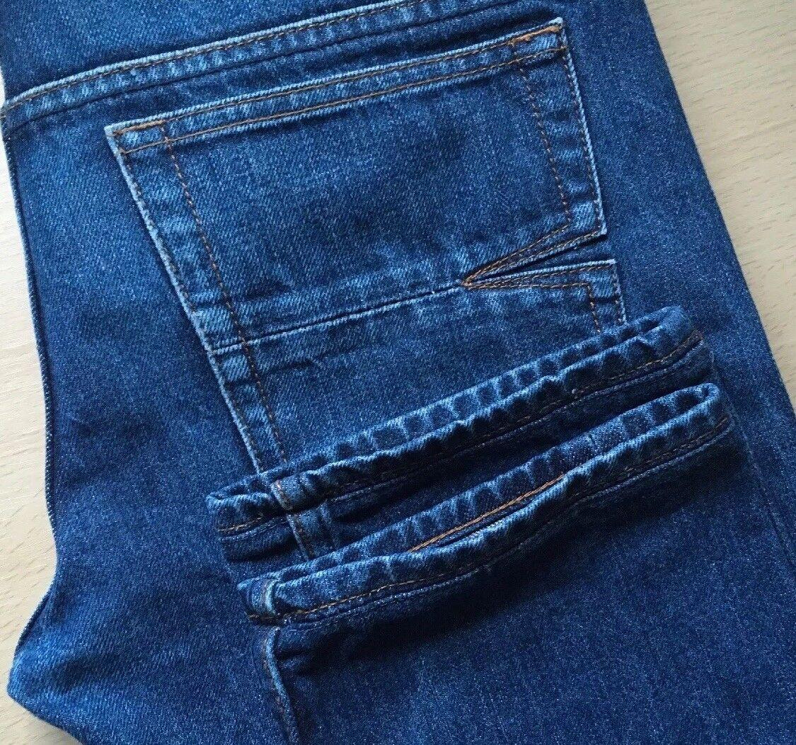 ULTRA RARE Serpente & PUGNALE GIAPPONESE Cimosa Cimosa Cimosa Jeans Denim Slim. 30W x 32L. (T437) 58c82f
