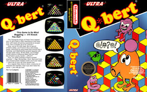 Q-Bert-Nintendo-Nes-Cleaned-amp-Tested-Authentic