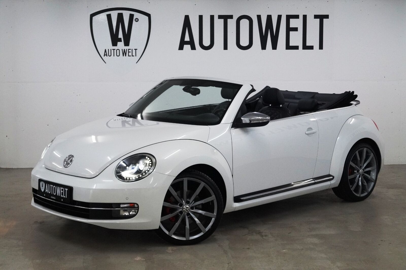 VW The Beetle 2,0 TSi 220 Cabriolet 2d - 329.700 kr.