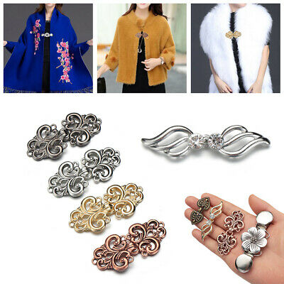 New Cardigan Clip Shawl Brooch Duck Clip Clasps Sweater Blouse Pin UK Stock!!!!