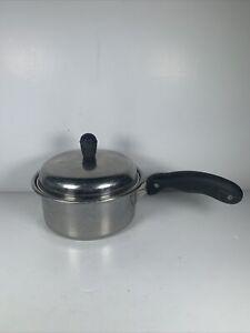 PERMANENT 1 Qt Sauce Pot 18-8 STAINLESS SOLAR STURGES COOKWARE W/ Lid