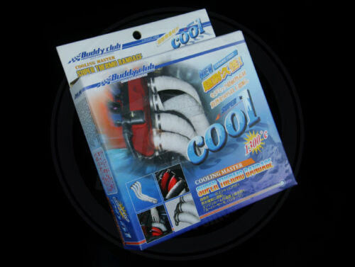 buddyclub performance thermo bandage//exhaust manifold dump//pipe heat wrap 10m