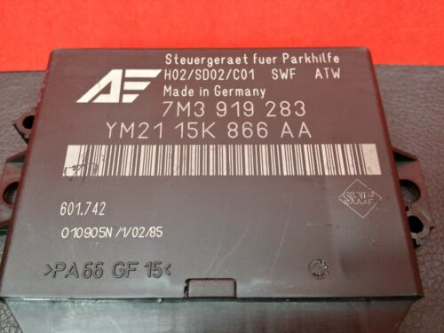 VW SHARAN 1.9 TDI FORD GALAXY PARKING SENSOR MODULE 7M3919283 YM2115K866AA