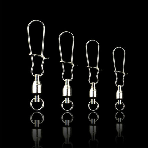 Stainless Steel Ball Bearing Swivels with CRANE DUO LOCK SNAP Trolling Rigging