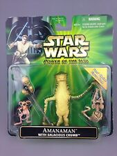 Star Wars Power Of The Jedi - Potj Amanaman Salacious Crumb Figure Set