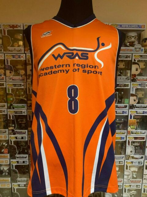 Western Region Academy of Sports #8 MED Printed Basketball Jersey by Soul Sports