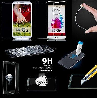 9H Premium Tempered Glass Screen Film Protector Guard Shield Skin For LG Phones