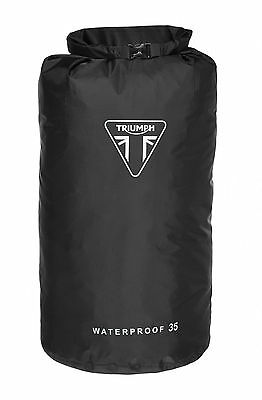 TRIUMPH WATERPROOF DRY KIT BAG MOTORCYCLE 35L ROLL TOP BAG MLUA15205