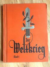 Sammelbilderalbum Der Weltkrieg Band 1  TOP Erhaltung (122)