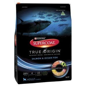 Supercoat True Origin Salmon & Ocean Fish Adult Dry Dog Food 7kg
