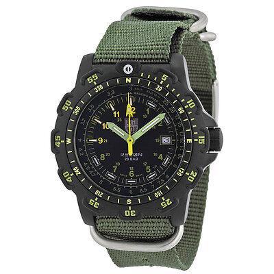 Luminox Recon Black Dial Green Nylon Strap Mens Watch SU8825.KM