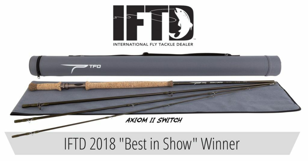 TEMPLE FORK OUTFITTERS AXIOM II 11' FT 8 WT 4PC SWITCH FLY ROD CASE FREE SHIP