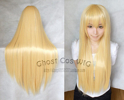 """24""""32""""40""""47""""59"""" Long Straight Cosplay Fashion Wig 40Colors heat resistant"""