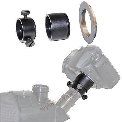 Telescope adapter for Canon T5i T4 T3 T3i XT XTi 50D 60D 5D 6D 7D 700D 100D SL1