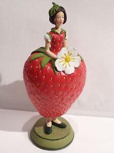 Objet de collection Figurine - Fleur -  Fraise