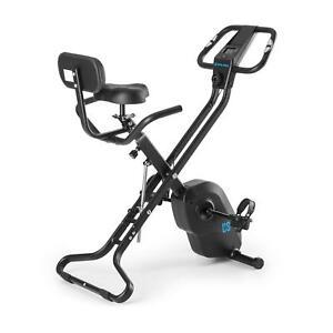Cyclette-Bicicletta-Fitness-Camera-Schienale-Ergometro-Computer-Nero-4Kg