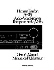 Harman Kardon AVR-45 AV Receiver Owners Manual
