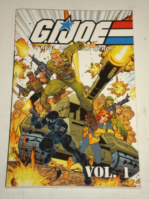 G.I. JOE A REAL AMERICAN HERO VOL 1 MARVEL LARRY HAMA SCARCE< 9780785109013