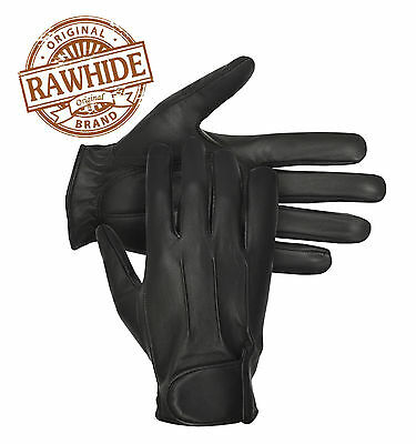 Mens Classic Driving Gloves Vintage Button//Velcro Style Lambskin Leather Dress Fashion