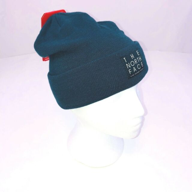b22c69506c7 The North Face Kodiak Blue Dock Worker Beanie Winter Hat Mens One Size NWT