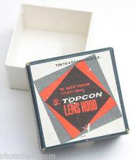 Topcon 58mm 1:1.8 Lens Hood Box - EMPTY BOX ONLY - Tokyo Kogaku Japan USED C279