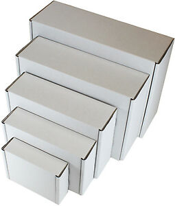 White shipping boxes postal mailing gift packet small parcel image is loading white shipping boxes postal mailing gift packet small negle Choice Image