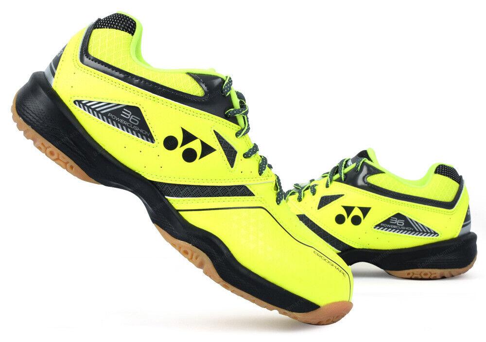 Yonex  Badminton Zapatos Unisex Amarillo 36 Cojín de Alimentación Raqueta Raqueta nuevo con etiquetas SHB-36EX  suministramos lo mejor