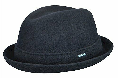 KANGOL 100% Authentic Wool Player Fedora Trilby Hat Cap 6447BC Brand new