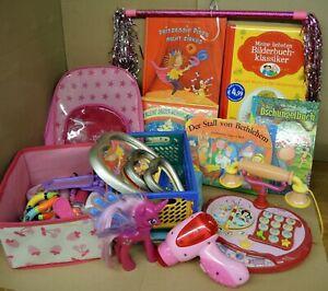 Spielzeug Spielepaket für Mädchen ab 3 Jahre, Konvolut (21 ...
