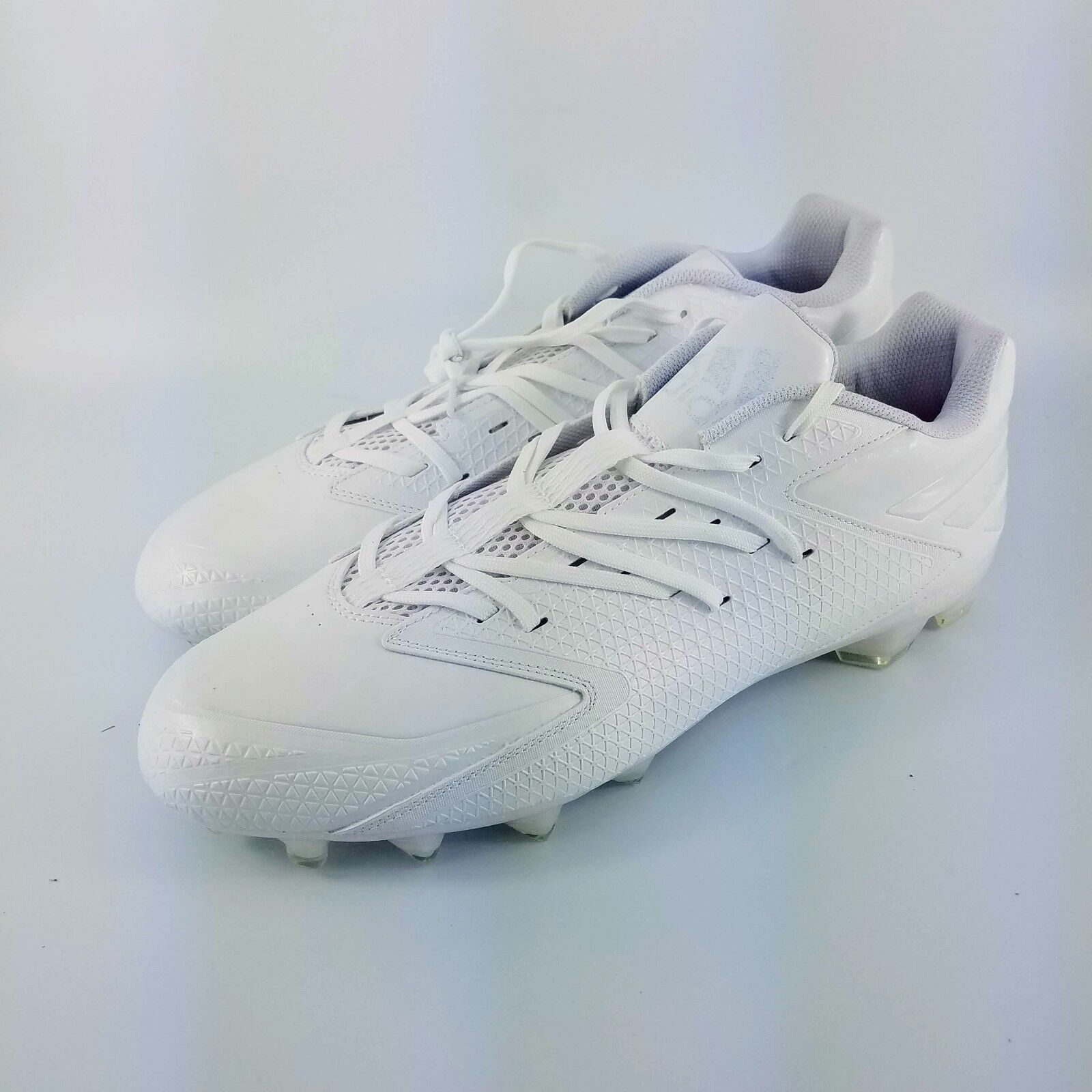 9289074ed58 Adidas X Carbon Low Football Cleats - White - Q16055 Size 15 - Freak ...