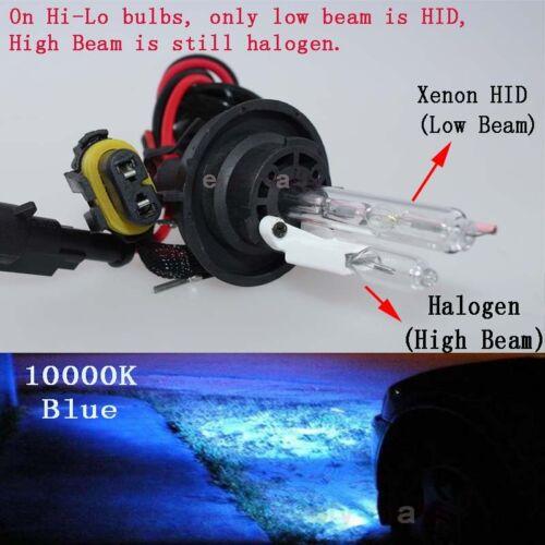 All Color HID Replacement Conversion Kit Xenon Hi-Lo Bulbs 9007 3k 43k 6k 8k 10k