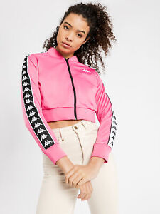 New-Kappa-Womens-222-Banda-Asber-In-Fuschia-Jackets-Track-Outlet