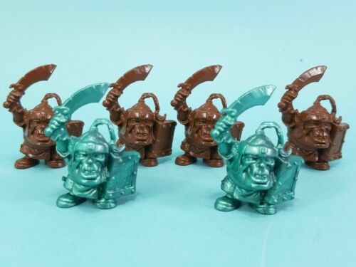 Sets of soldiers Chibi orcs and dwarves Tehnolog