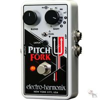 Electro-harmonix Pitch Fork Harmonizing Pitch Shifter Guitar Effects Pedal Ehx